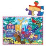 puzzle 100 pièces eeboo