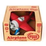 avion rouge greentoys boite carton recycle
