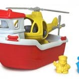 bateau hélicoptère greentoys