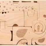 puzzle bois enfants petit collage