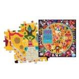 puzzle 1008 pieces cirque animaux eeboo