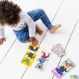 mix match animaux jeux petits enfants petit monkey