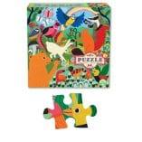 puzzle 64 pieces la prairie eeboo