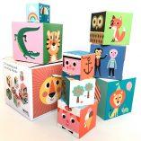 cubes en carton jouet bebe omm design