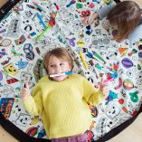 sac-tapis-de-jeux a colorier jouets loisirs creatifs omy play and go