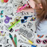 sac-tapis-de-jeux-rangements jouets loiisrs creatifs omy play and go