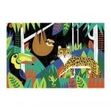 puzzle phosphorescent 100 pieces animaux