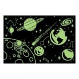 puzzle phosphorescent 100 pieces planetes