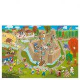 affiche jeu-puzzle-chevaliers-princesses pirouette