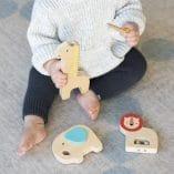 instruments de musique cadeaux bebes petit collage
