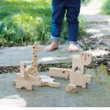 puzzle jeu d'equilibre jouet bois enfant petit collage