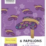 activite-manuelle-papillons pirouette cacahouete