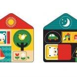 premier puzzle en bois jouet premier age enfant petit collage