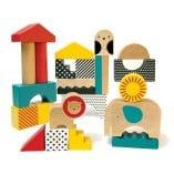 jeu construction animaux en bois 18 m petit collage