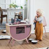 sebra-cuisine-vieux-rose pour enfant