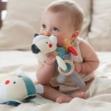 jeu eveil bebe coton bio petit collage