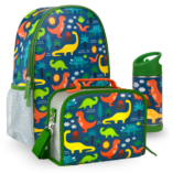 sac a dos gourde sac isotherme dino petit collage