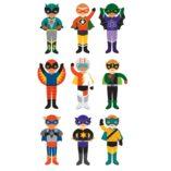 heros perso jeu magnetique petit collage