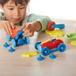kit de pate a modeler faire des voitures green toys