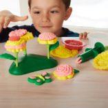 kit de pate a modeler fleurs green toys