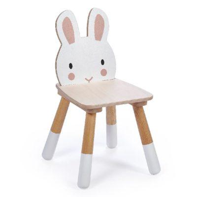 chaise lapin enfant en bois