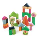 premiers cubes en bois