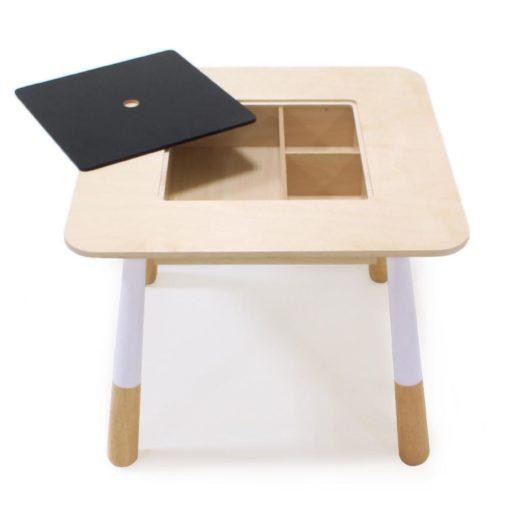 table bureau enfant ardoise rangement