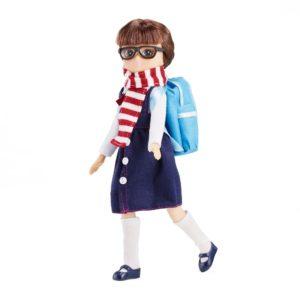 Poupée Lottie va à l'école