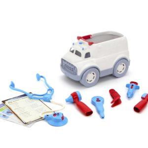 Green Toys : ambulance et kit du docteur