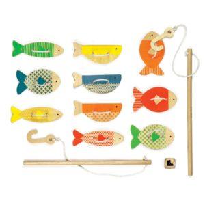 Petit Collage : la pêche à la ligne