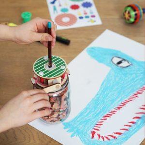 Koa Koa Coffret fabrique ton propre taille crayon géant