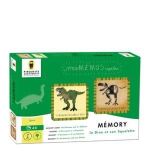 Pirouette : memory dinosaures
