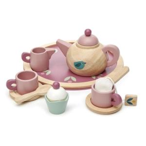 Tender Leaf Toys : dinette en bois birdie tea set