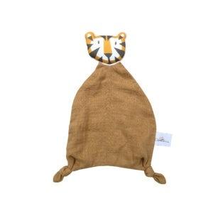 Carotte & Cie doudou tigre en coton bio