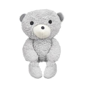 Doudou écologique petit ours gris