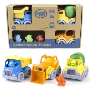 Green Toys coffret de trois camions de travaux