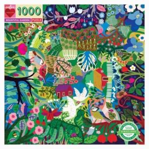 Eeboo : puzzle Bountiful garden 1000 pièces