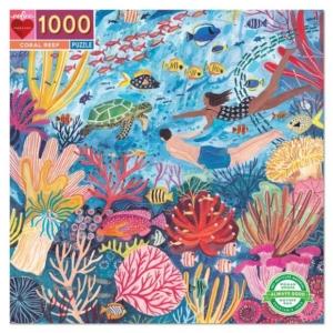 Eeboo : puzzle Coral Reef 1000 pièces