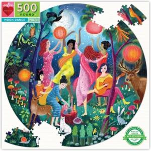 Eeboo : puzzle Moon Dance 500 pièces
