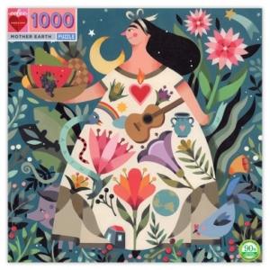 Eeboo : puzzle Mother Earth 1000 pièces