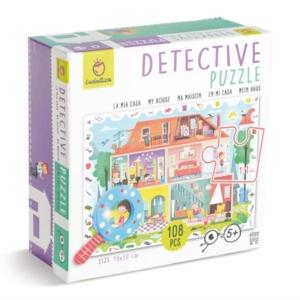 Puzzle détective  : ma maison 108 pièces