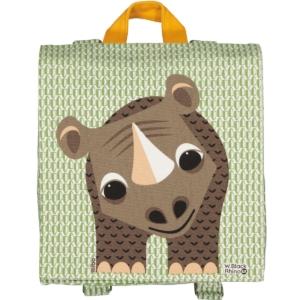 Coq en Pâte : sac à dos rhinocéros
