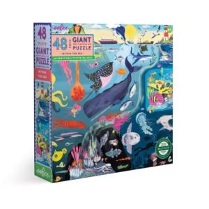 Eeboo : puzzle à la mer 48 grandes pièces
